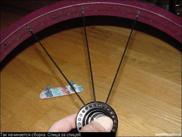 Как собрать колеса своими руками 85